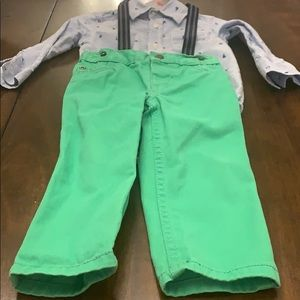 Toddler boys Carters 3 piece 'dress me up' set